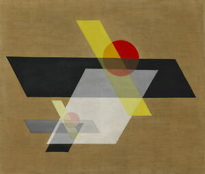 Laszlo Moholy Nagy Construction A II Giclee Canvas Print Paintings Poster Reprod