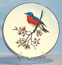 Bluebird Avon Collector Plate North American Songbird Don Eckelberry 1975 Vtg