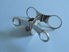 Original Art Deco Chrome 'Parsifal' Folding Opera Glasses, Germany c1930