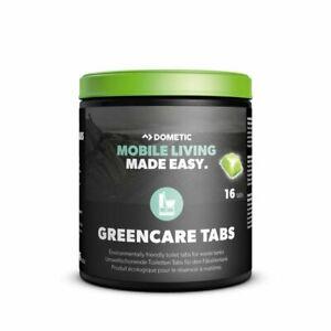 Dometic GreenCare ECO Toilet Tabs 16Pcs  Ideal For Motorhome & Caravan