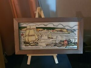 MOORCROFT HMS ENDEAVOR PLAQUE PLQ 5,FIRST QUALITY, NUMBER EDITION 53