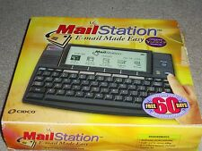 Cidco Mail Station Email made easy NEW in Open Box, Black unit, NO batteries
