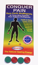 BiomagScience Pain Relief Vitality Kit Magnetic Energy Healing Health Magnets