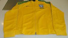 Team Brazil Brasil International Soccer XL N98 Track Jacket Yellow 2015