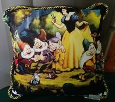 Price Reduced - Snow White And The Seven Dwarfs Pillow