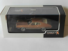 FORD GRAN TORINO SPORT 1972 GOLD METAL PREMIUM X PRD153 1/43 LIMITED EDITION USA