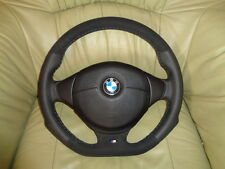 TUNING ALCANTARA  UNTEN ABGEFLACHT Lederlenkrad + Airbag BMW E36 E38 Z3 E39 TOP.