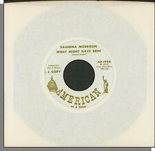 "Saundra Morrison - What Might Have Been + It's You - Promo 7"" 45 RPM Single!"