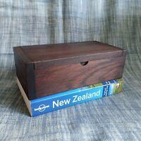 Wooden Box Vintage 10x20x6 CM Trinket Storage Jewelry Coin Case Vintage Gift