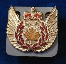 Canada RCAF Royal Canadian Air Force Flight Crew Steward enameled badge SCULLY