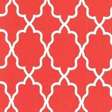 Moroccan Lattice Clementine for Michael Miller, 1/2 yard 100% cotton fabric