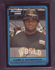 Lot of (25) 2006 Bowman Pablo Sandoval RC  # FG6