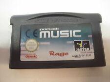Nintendo Game Boy Advance GBA Pocket Music de Rage