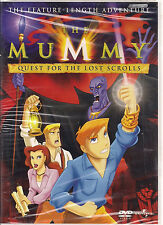 MUMMY QUEST FOR THE LOST SCROLLS (DVD, 2002) NEW