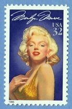 MARILYN MONROE Legends of Hollywood STAMP Unused 32 cent USPS Postage 1995 MNH