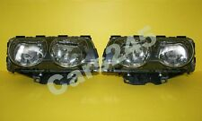 BMW 7 Series E38 1998-2001 Titanium Headlights Front Lamps LEFT + RIGHT 99 00