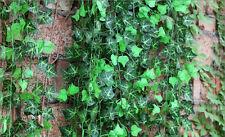 Artificial Ivy Leaf Garland Plant Vine Fake Foliage Flowers Home decor 2.5M ONE