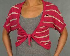 Hollister Damen Bolero Jacke Größe Größe M Pink Neu mit Etikett