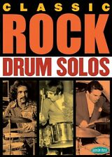 Classic Rock Drum Solos Instructional Drum  DVD NEW 000320665