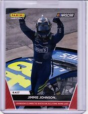 2017 JIMMIE JOHNSON PANINI INSTANT NASCAR CARD #13 DOVER WIN - ONLY 64 MADE SSP!