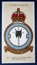 No 13 (Army Co-Operation) Squadron  Royal Air Force   Original Vintage Card