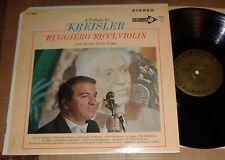 Ruggiero Ricci - A Tribute to KREISLER - Decca Gold Label DL 710052
