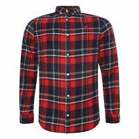 Liverpool FC Mens Check Shirt LFC Official
