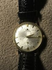 Vintage Jaeger LeCoultre JLC 14K Yellow Gold 17J Manual Wind Watch