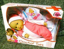 Lissi® Babypuppe Doctor Set, Puppe mit Doktorset - NEU
