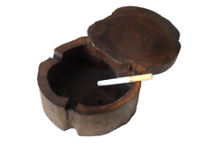 Handwork Style Ashtray for Smoking  with Lid Vintage Bar SPA Table Decorative