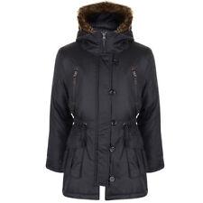 Manteaux, vestes et tenues de neige noires en fourrure pour fille de 2 à 16 ans