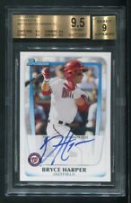 2011 Bryce Harper Bowman Prospects #bp1b Auto Nationals BGS 9.5