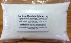 NEW Sodium Metabisulphite - 1kg