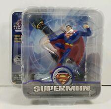 Justice League Cartoon Network Cold Cast Superman Figurine Paperweight -Monogram