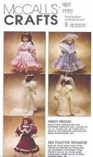 Victorian Fancy Frocks Doll Dress Clothes Sewing Pattern UNCUT 13 14 16 Inch
