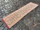 Bohemian rug, Turkish rug, Vintage rug, Runner Rug, Wool rug | 1,4 x 5,1 ft