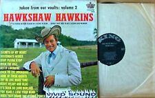 HAWKSHAW HAWKINS - TAKEN FROM VAULTS - VOL. 2 - KING LP