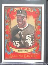 2017 Topps Allen and Ginter Rip Card RIP-86 Frank Thomas No 4 of 60
