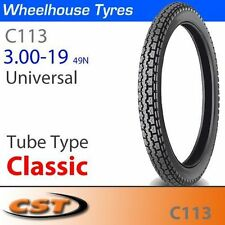 Classic CST Tyres and Tubes Motorcycle
