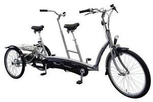 Van Raam Twinny Plus Therapeutisches Dreirad Tandem/Duo Rad Fahrer vorn NEU!!!