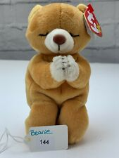 TY Beanie Baby Collection Retired Hope Praying Bear March 23, 1998 W/ Errors