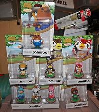 Nintendo Animal Crossing Amiibo RARE Discontinued HUGE Brand new lot! Figures