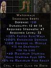 Waterwalk Boots | Wasserwanderung Stiefel | Diablo 2 Resurrected D2R SC