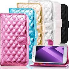 Metallic Handy Tasche für Samsung Galaxy Schutzhülle Flip Case Cover Etui Wallet