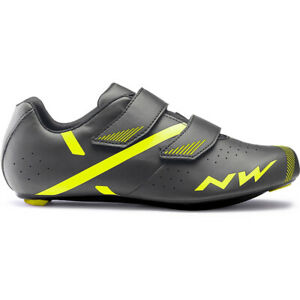 RACING BIKE SHOES MTB SPINNING NW JET2 ANTHRACITE / YELLOW SIZE 42.5