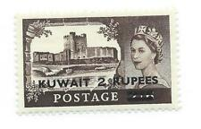 Mint Hinged Elizabeth II (1952-Now) Kuwait Stamps (Pre-1961)