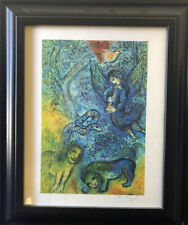 "Marc Chagall, ""The Magic Flute"", Lithograph, 1971: VIP Book, Hand Signed, COA"