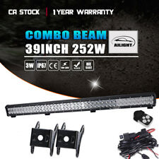 39 inch 252W LED Work Light Bar Combo Off Road SUV UTE ATV LAWN MOVER GOLF CART