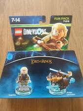 Lego Dimensions Lord Of The Rings Legolas Fun Pack 71219 MINT COMPLETE