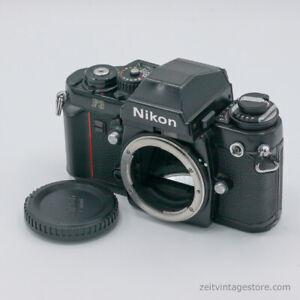 Nikon F3 + Standard Eye-Level Viewfinder 35mm Film Analog Kamera